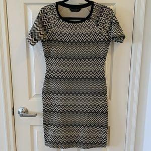 Dorothy Perkins Midi Bodycon Dress Size 6